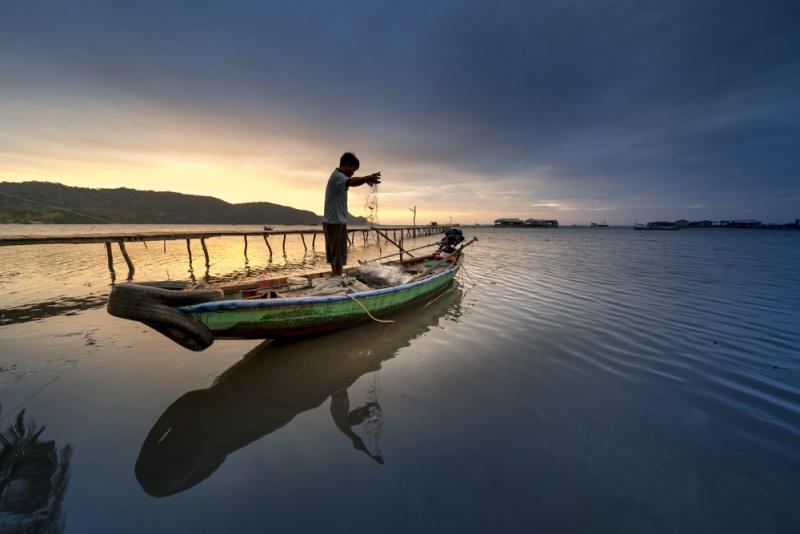 Faire de la pêche à l'île de Phu Quoc
