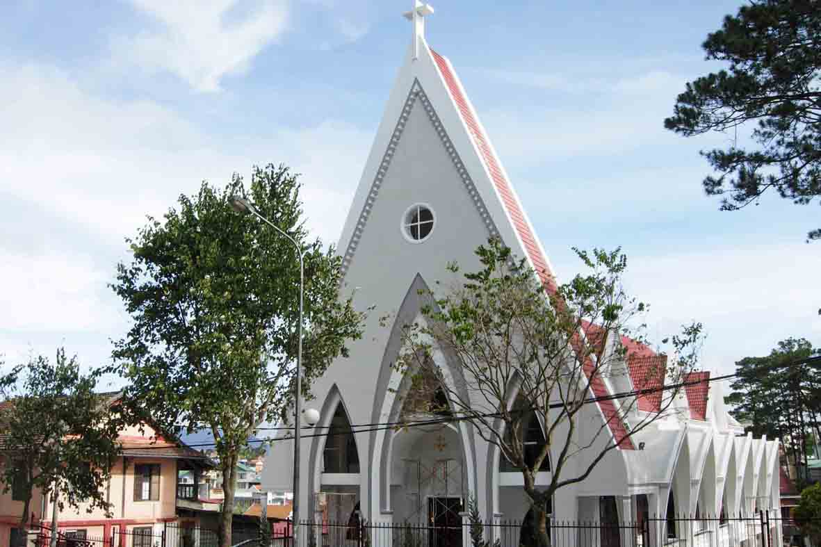 L'église Thanh Tam