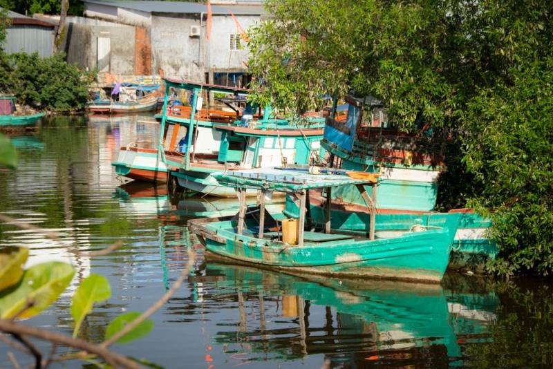 Mangez des fruits de mer au village de pêcheurs de Ham Ninh