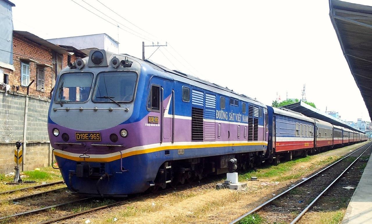 Nha Trang à Mui Ne en train
