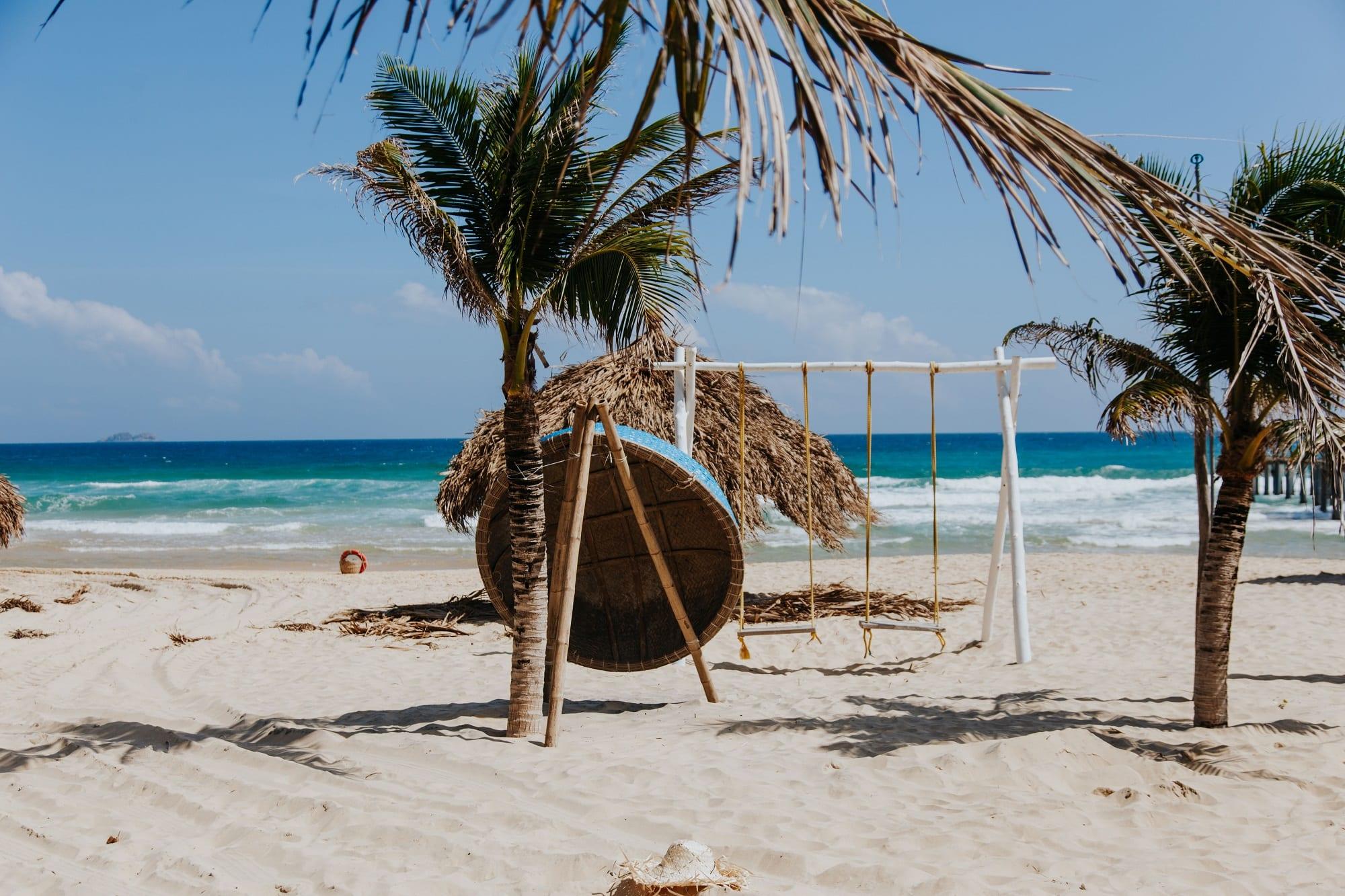 Relaxer à la plage de Quy Nhon