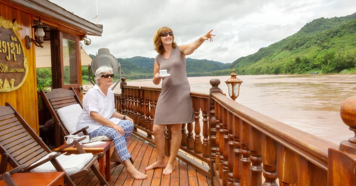 Une croisière de luxe sur le fleuve Mékong
