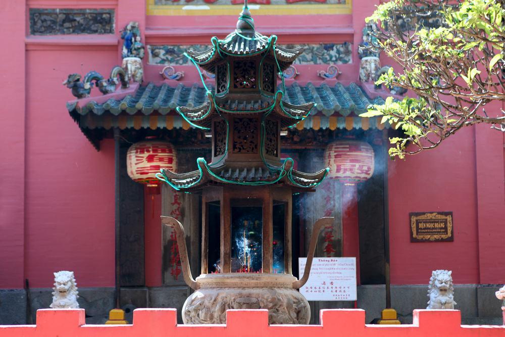 Visite de la pagode de l'empereur de Jade