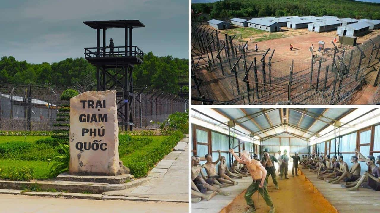 Visite de la prison de Phu Quoc