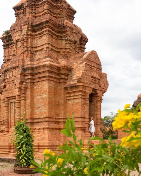 Visite des tours de Po Shanu Cham Mui Ne Phan Thiet