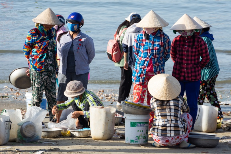 Visite du village de pêcheurs et du marché de Mui Ne