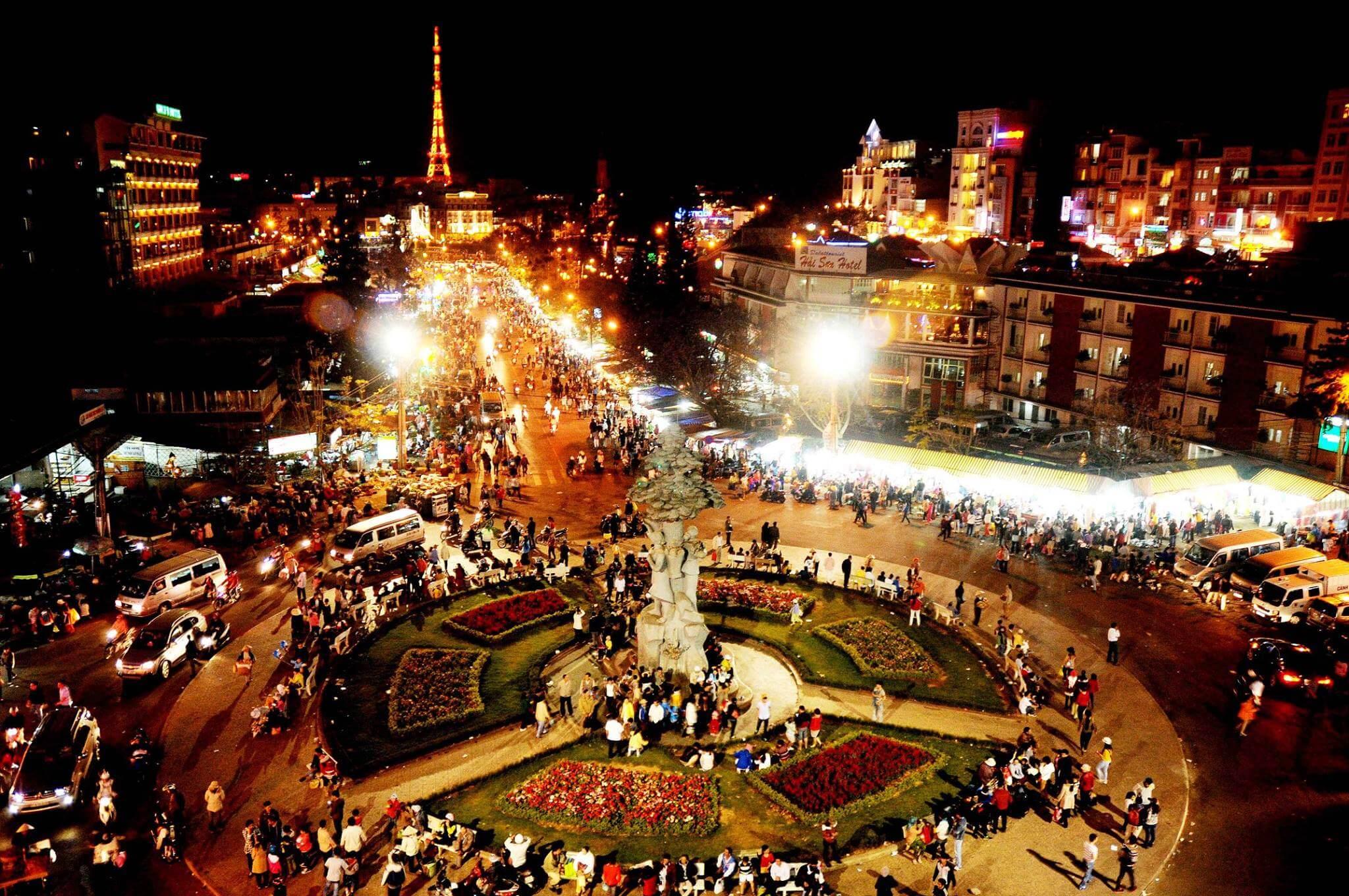 Visiter le marché central de Dalat
