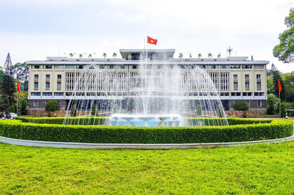 Visiter le palais de la Réunification