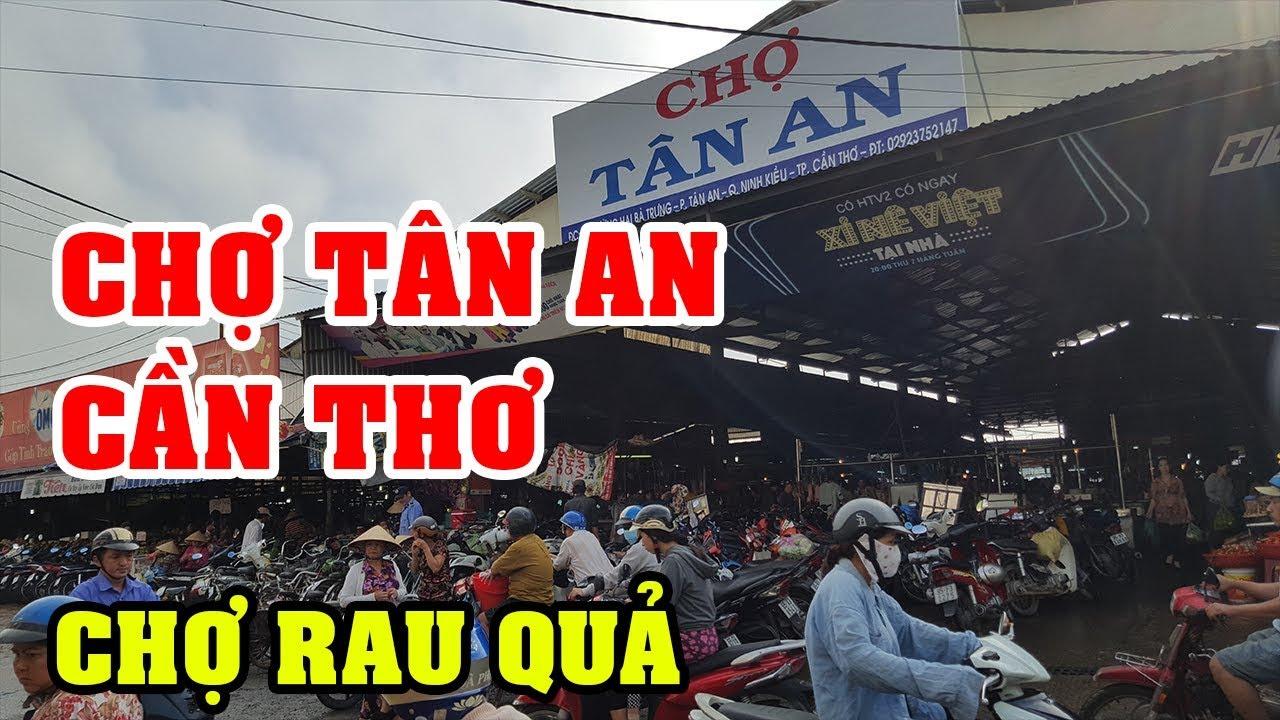 Visiter les deux marchés locaux de Tan An et Cai Khe