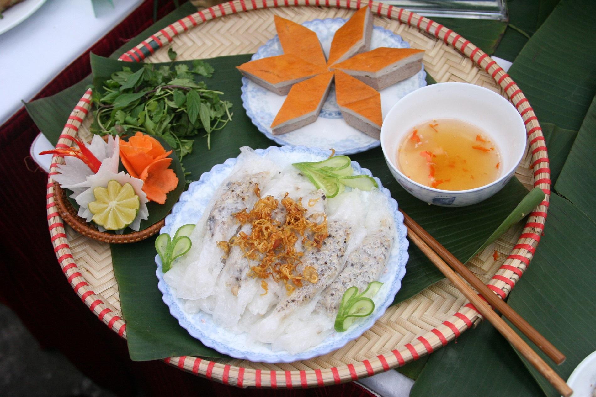 Banh Cuon - Crêpe farcie