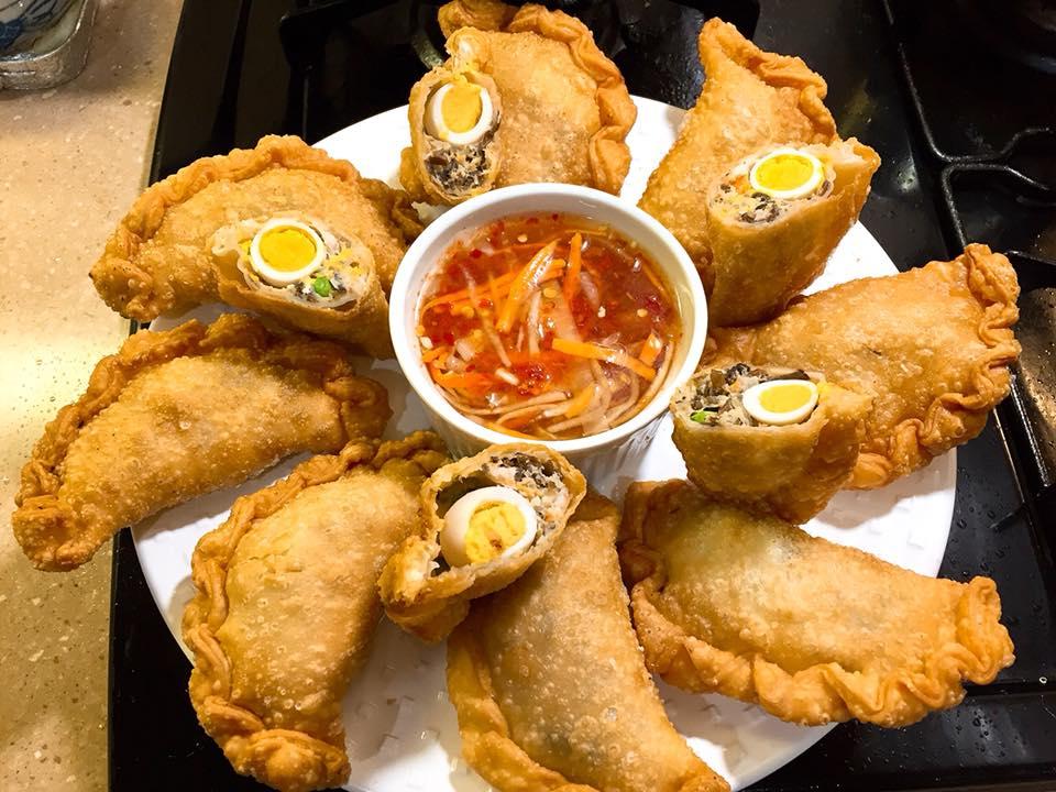 Banh Goi – Gâteau oreiller frit