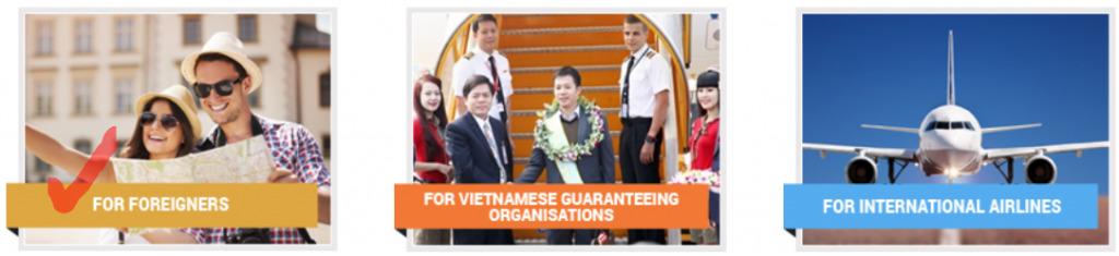 Commencez votre demande d'evisa pour le Vietnam en ligne ici