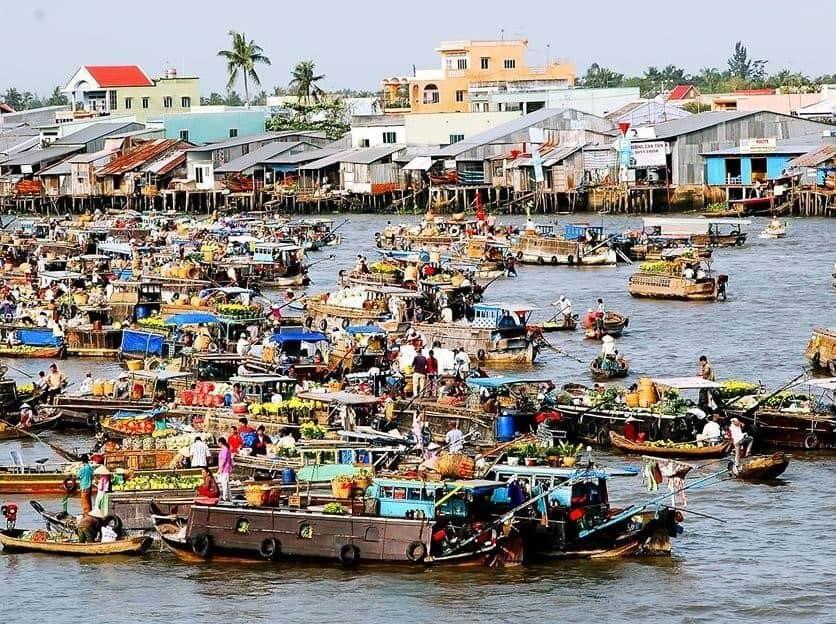 Comment se rendre au marché flottant de Cai Rang
