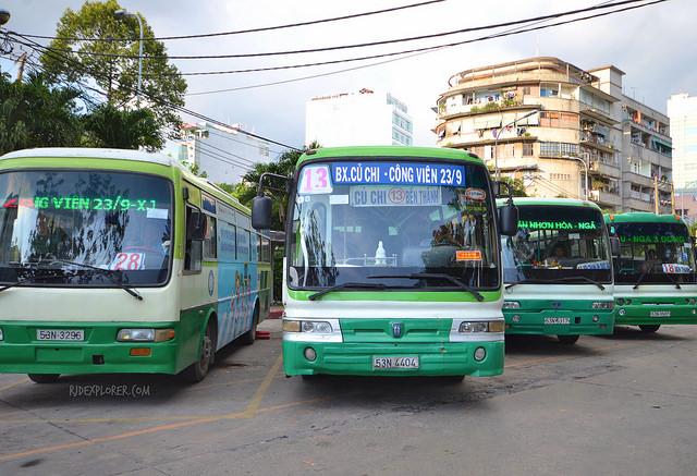 De Ho Chi Minh aux Tunnels de Cu Chi en bus