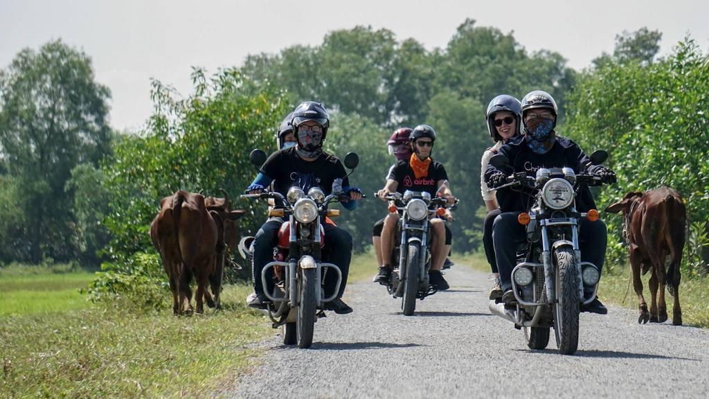 De Ho Chi Minh aux Tunnels de Cu Chi en moto