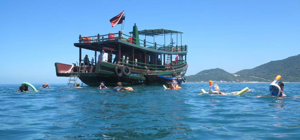 De Hoi An à l'île Cham en bateau privé