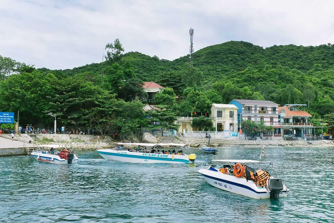 De Hoi An à l'île Cham en bateau rapide