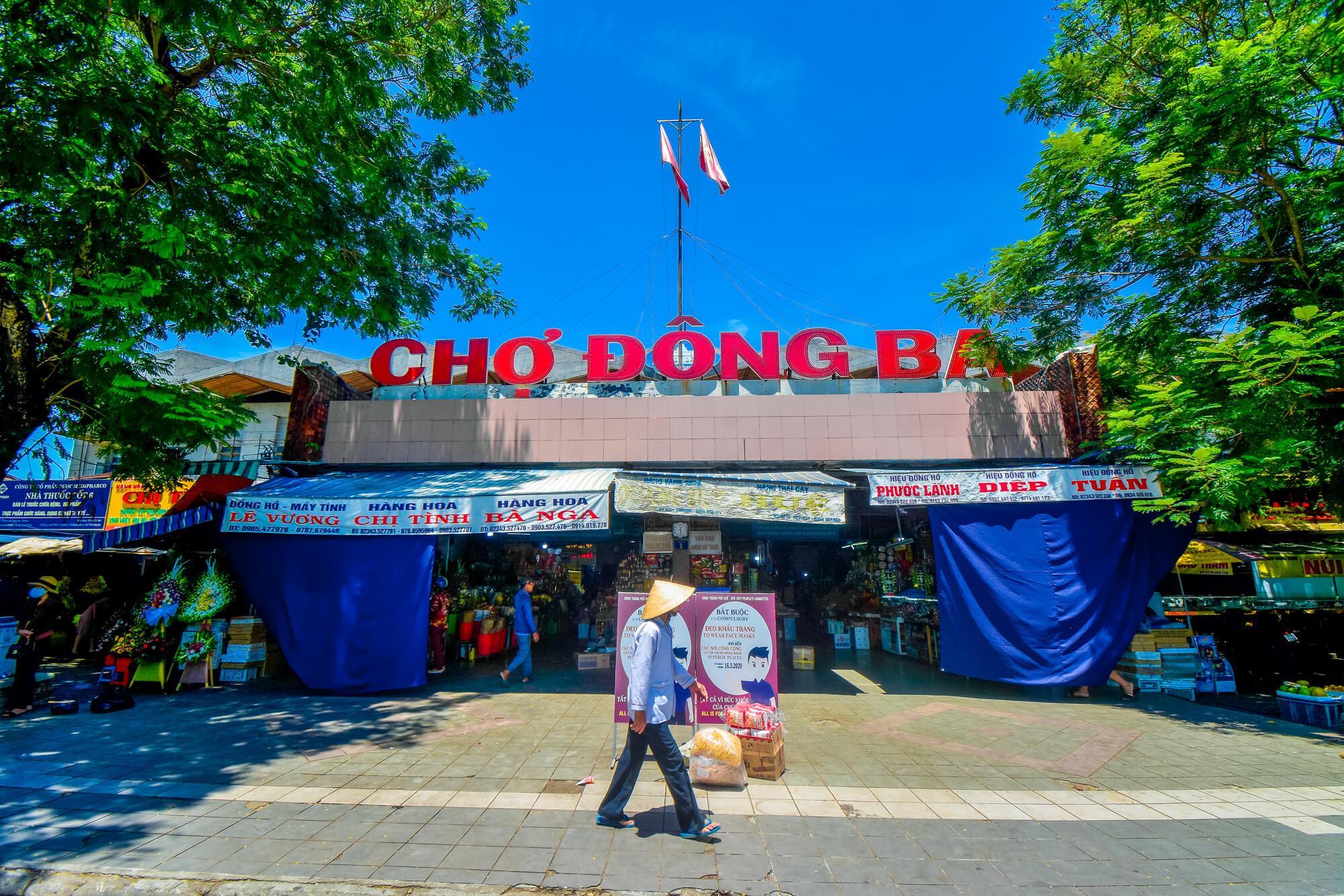 Faire du shopping à Hué Vietnam