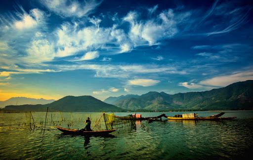 Faire la pêche au lagon de Tam Giang