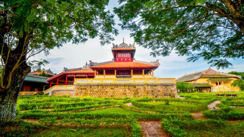 La citadelle impériale de Hué