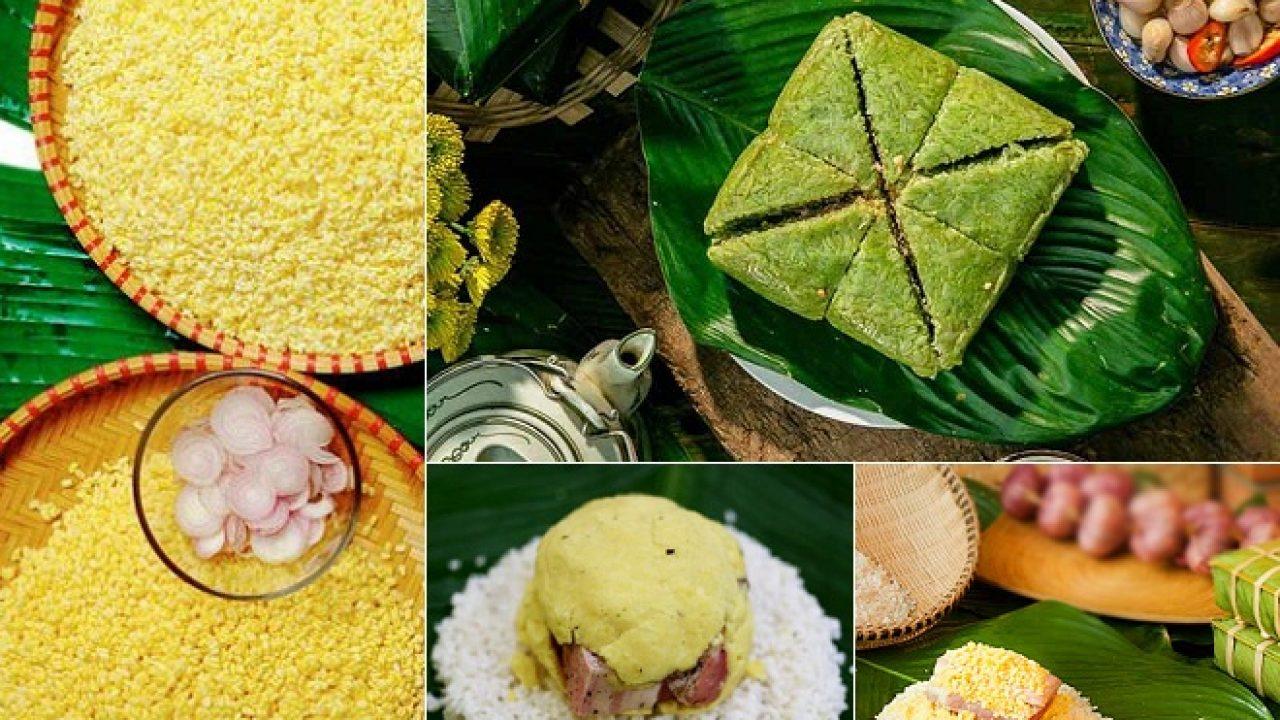 La nourriture traditionnelle de la fête du Têt dans le nord du Vietnam