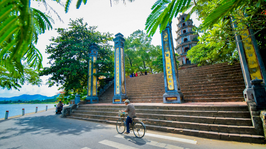 La pagode de Thien Mu