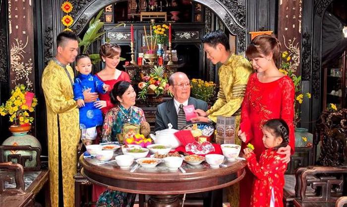 Les fêtes de famille tet vietnam