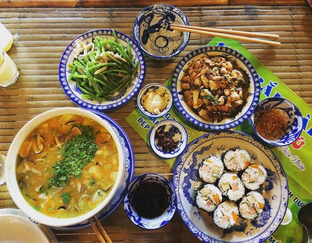 Meilleurs restaurants de cuisine végétarienne à Hue