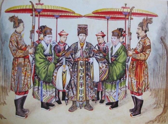 Nom de famille vietnamien Nguyen à l'épode du Moyen-âge
