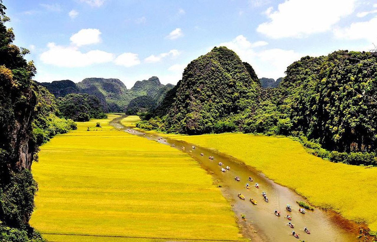 Où voyager au Vietnam baie d'halong terrestre