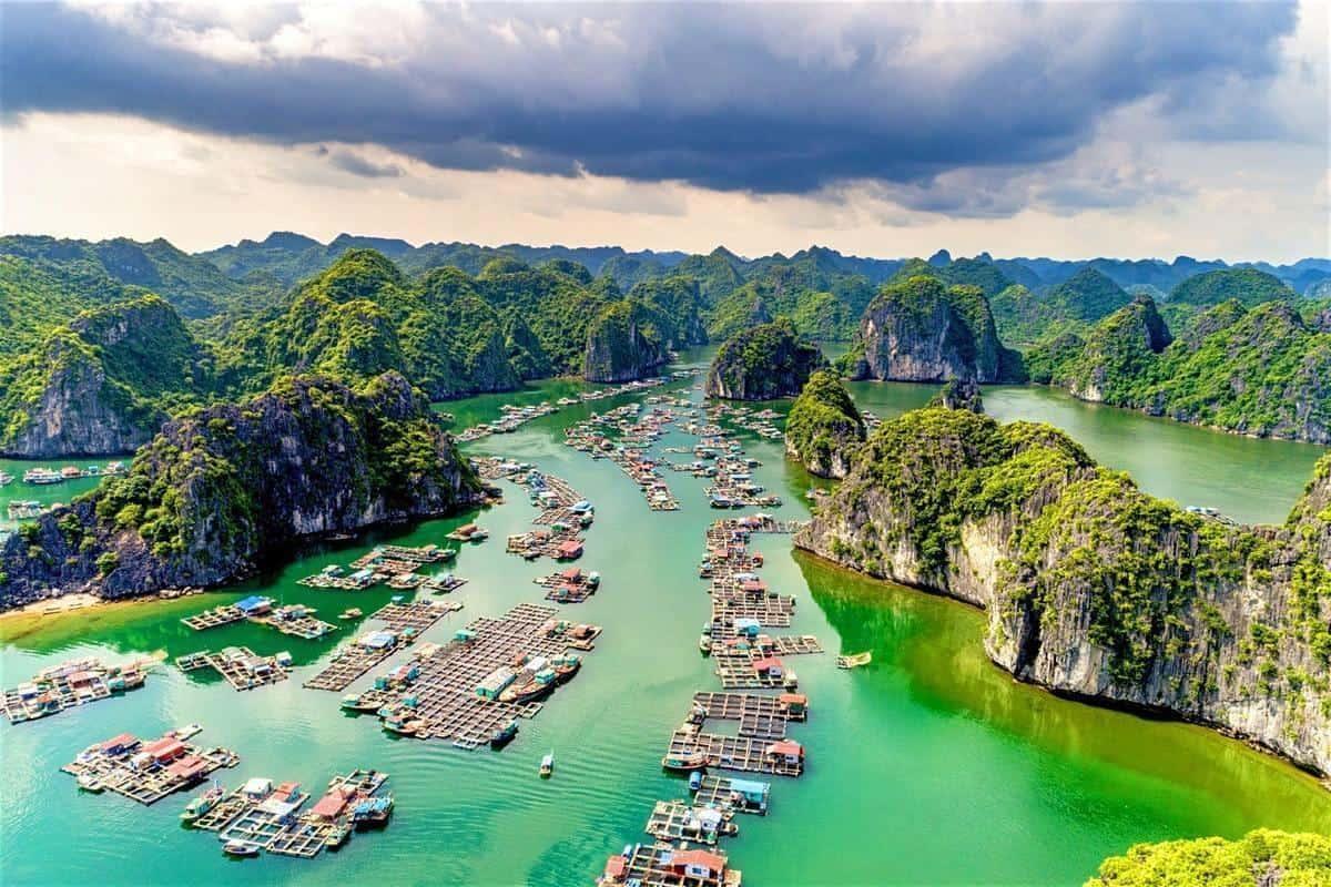 Où voyager au Vietnam baie d'halong