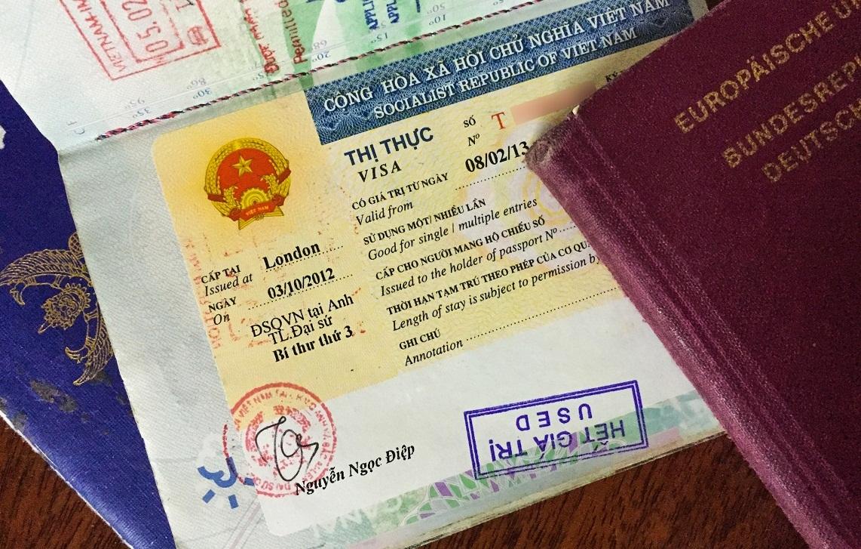 Passeport et visa pour le Vietnam