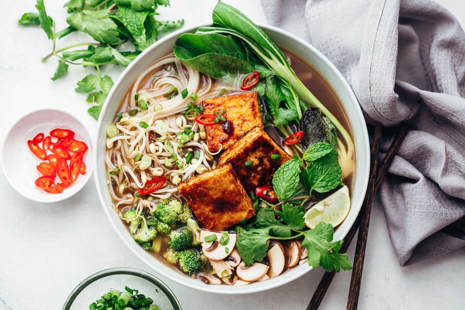 Pho Chay (Pho végétarien)