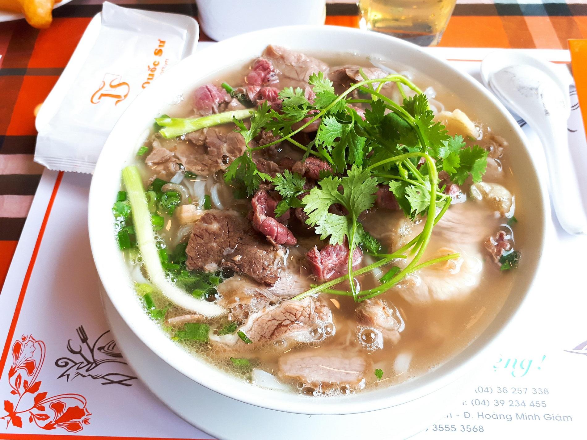 Pho - Soupe de nouilles de riz