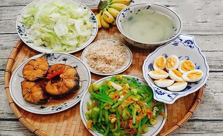 Prix d'un repas au Vietnam