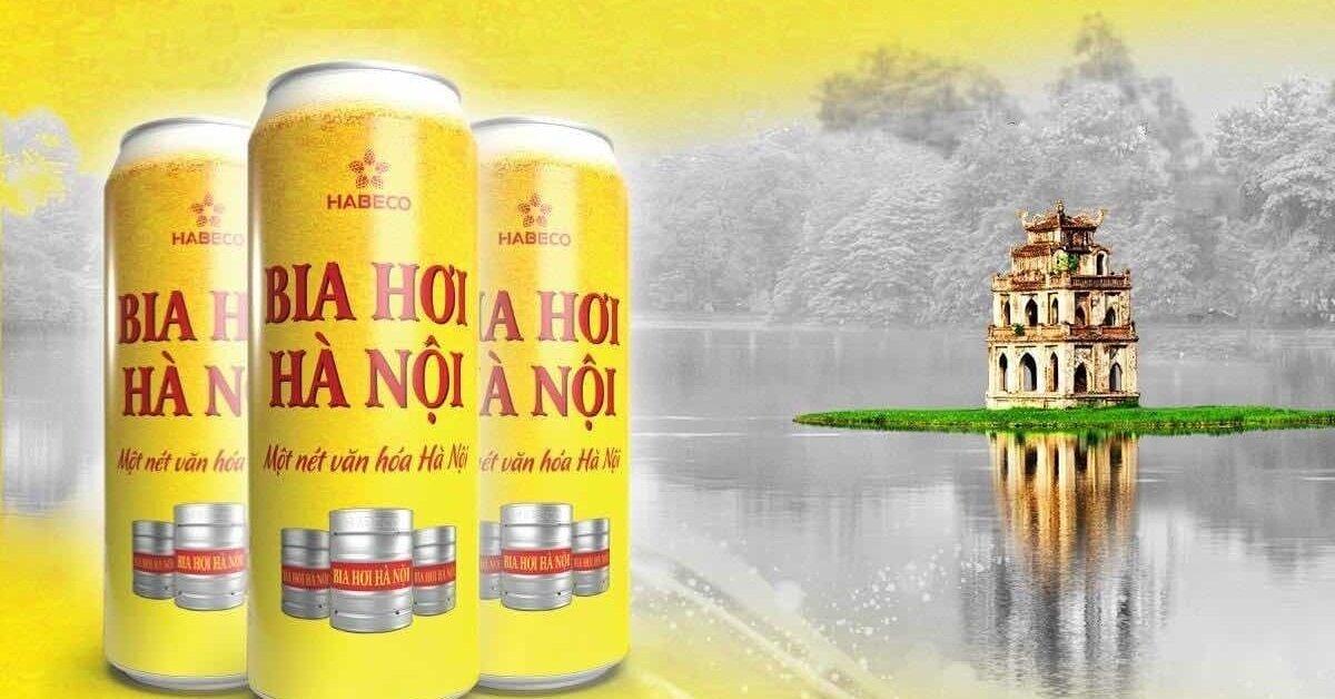 Prix d'une bière Hanoi au Vietnam