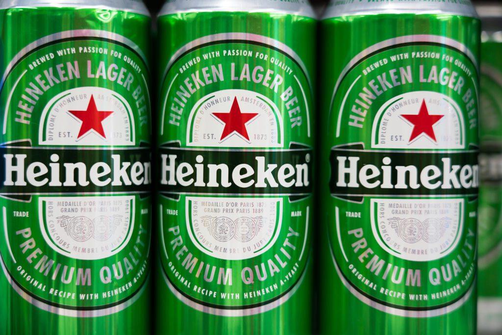 Prix d'une bière Heineken au Vietnam