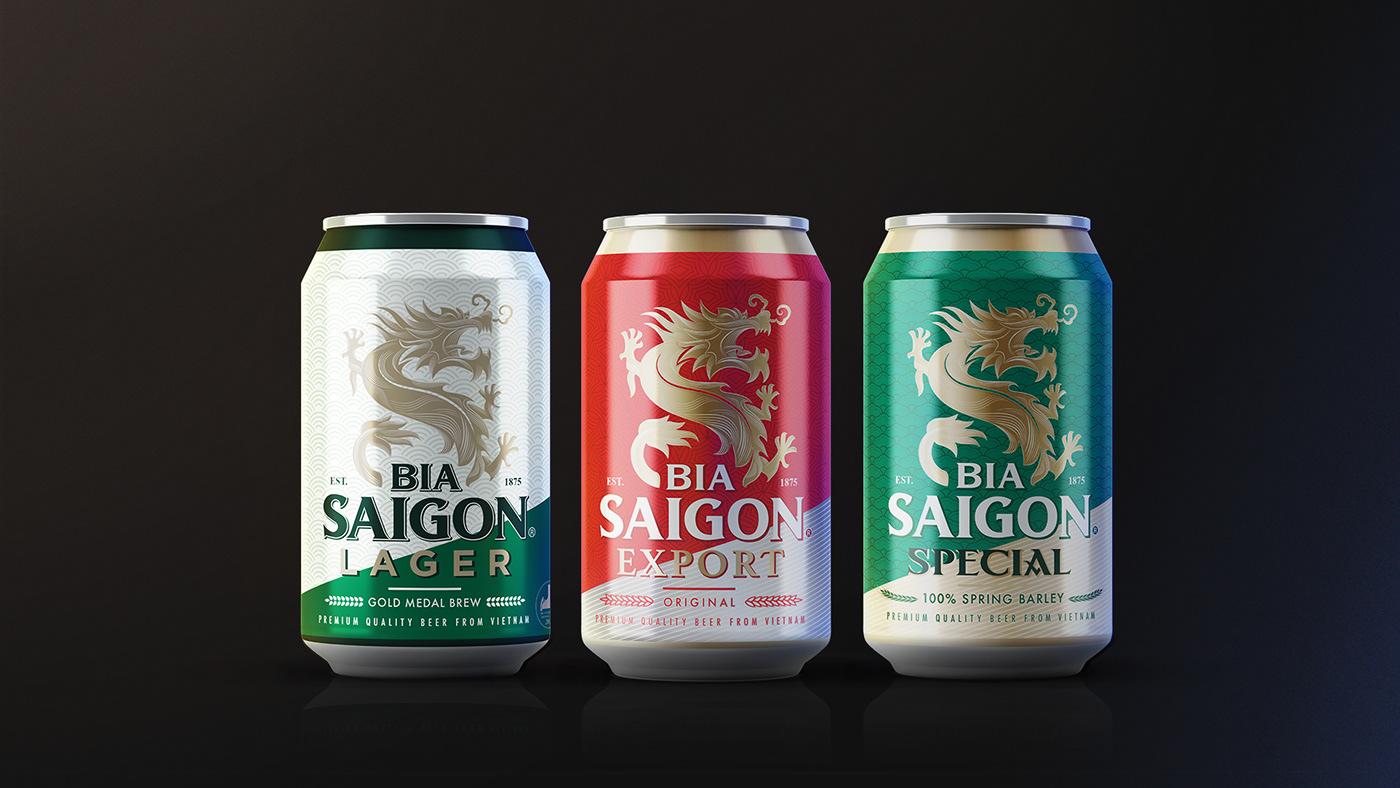 Prix d'une bière Saigon au Vietnam