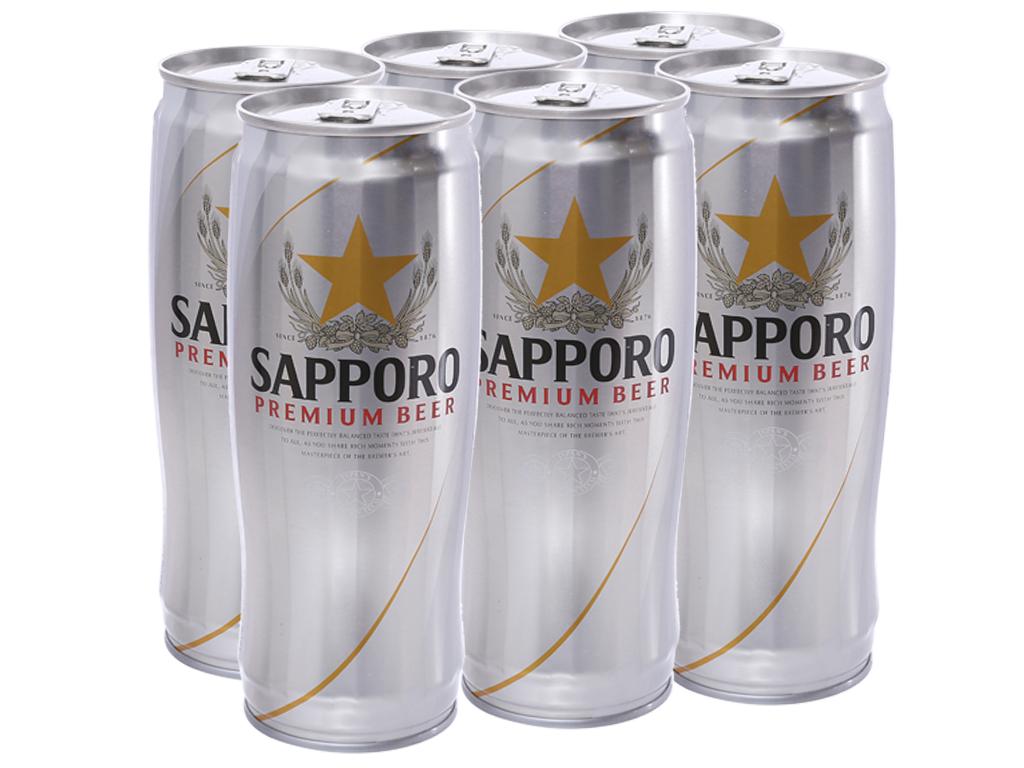 Prix d'une bière Sapporo au Vietnam