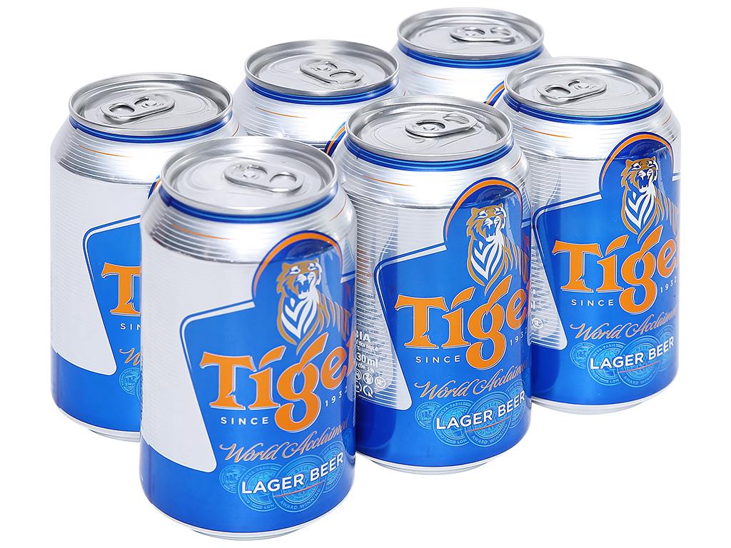 Prix d'une bière Tiger au Vietnam