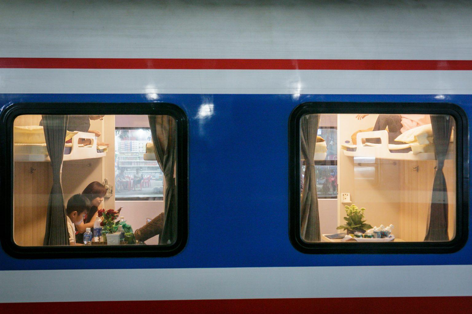 Taille des bagages autorisée dans les trains de nuit