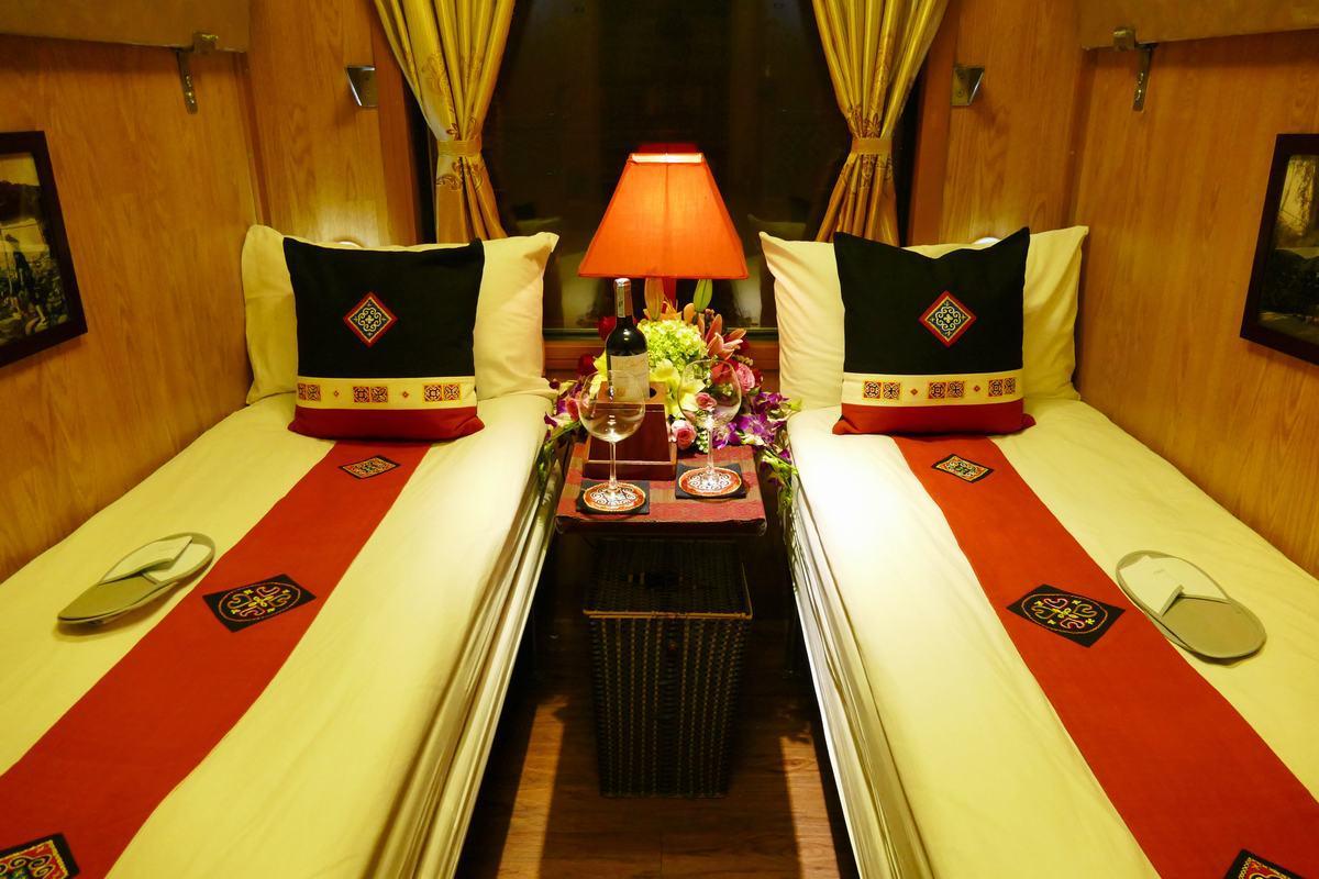 Train couchette Vietnam