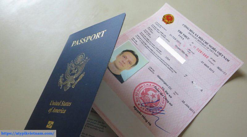 Visa pour le Vietnam à feuilles mobiles