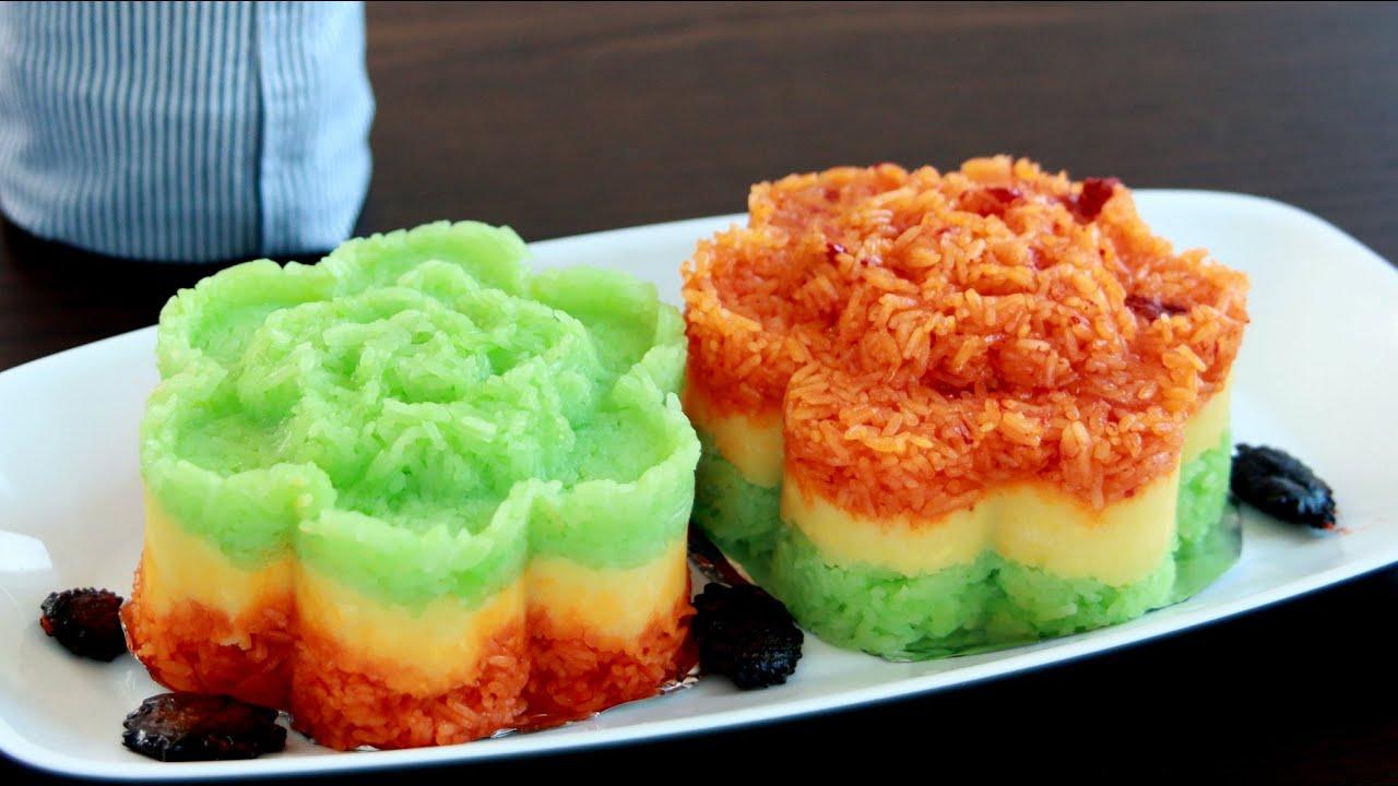 Xoi Chay (Riz gluant aux légumes)
