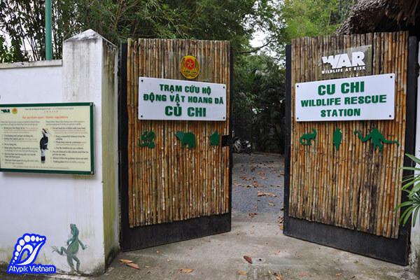 Centre de protection de la faune de Củ Chi