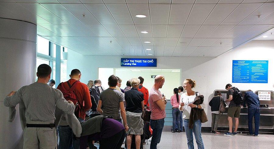 obtenir le visa Vietnam à l'arrivée dans l'aéroport Tan Son Nhat