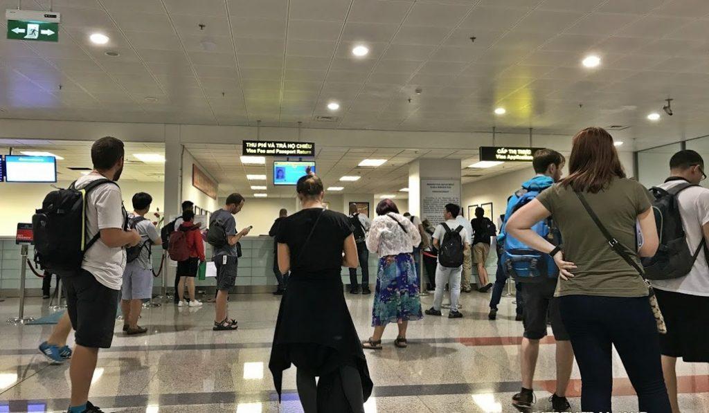 obtenir le visa Vietnam à l'arrivée dans l'aéroport de Noi Bai