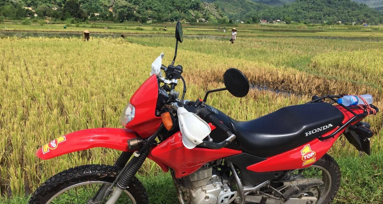 De Hanoi à Mai Chau en moto