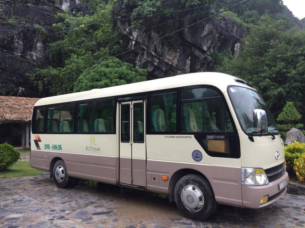 De Hanoi à Mai Chau en navette