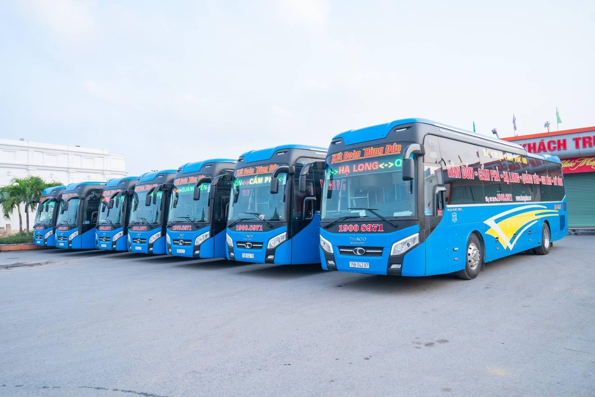 De Hanoi à Pu Luong en bus local
